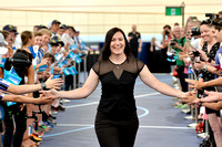 Anna Meares Velodrome Opening